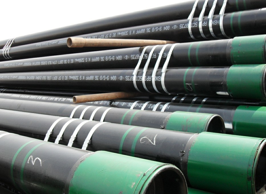 China octg well casing pipes k