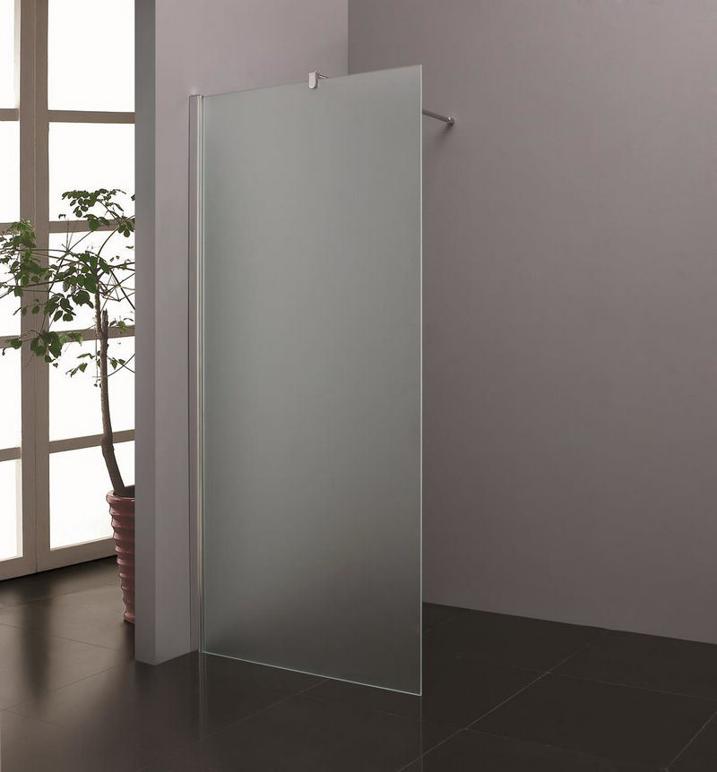 8mm 10mm Easy Clean Safety Glass Simple Shower Screen Nano
