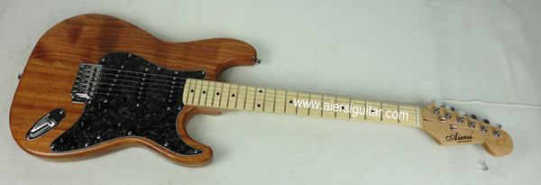 Cheap Price All Solid Mahogany St Strato Style Electric Guitar for Sale