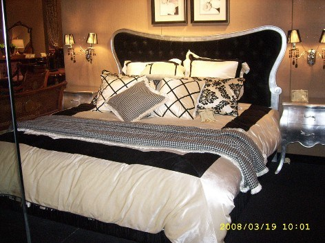 Silver Bedroom Set