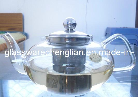 High Borosilicate Glass Tea Pot (NRH-008)