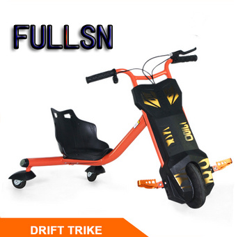 New 120W Drift Trike 3 Wheel Smart Bike Side Trike for Kids