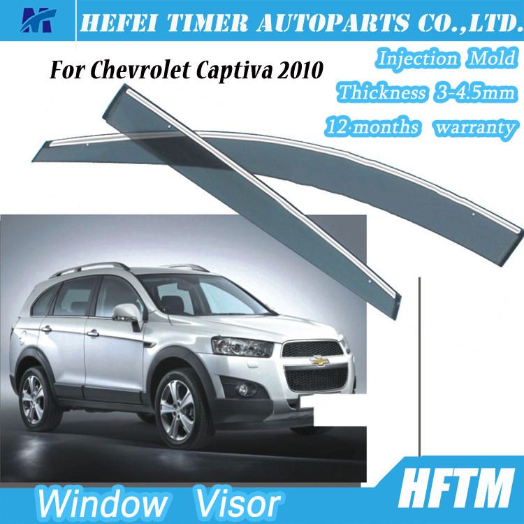 High Quality Bug Deflector Window Visors Car Sun Visor for Chevrolet Captiva 2010