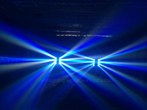 8*10W LED Moving Head Beam Light for Stage Effect (HL-015YT)