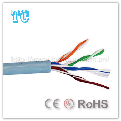 Ce/CCA Certificate Cat 5e Indoor UTP Network Cable