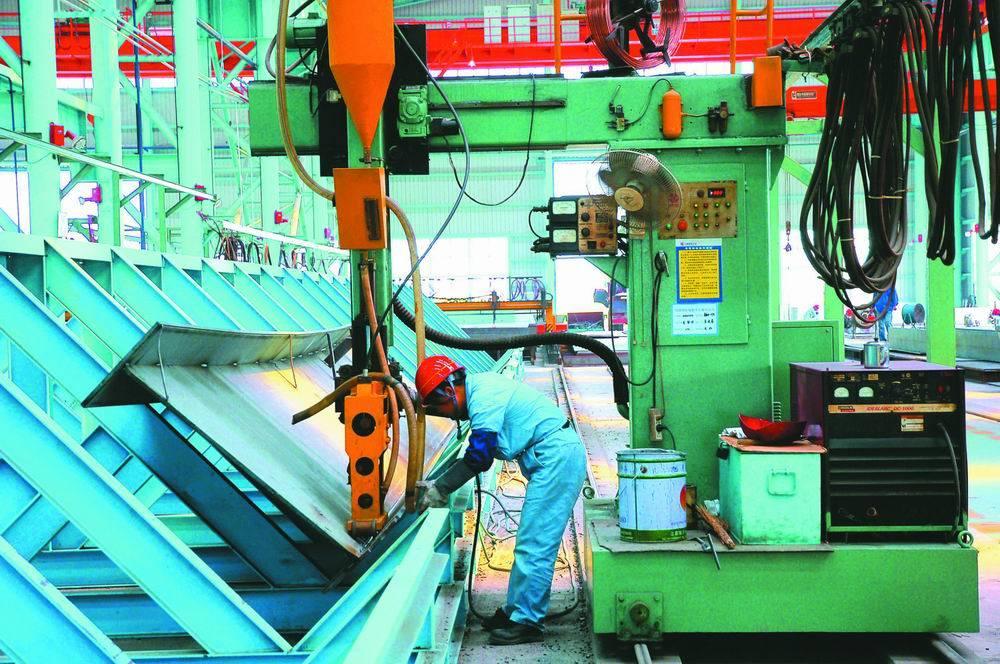 Heavy Steel Cantilever Submerged Arc Welding Machine