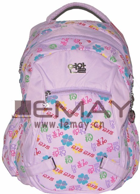 School Backpacks Customized Sublimation Kids Bags