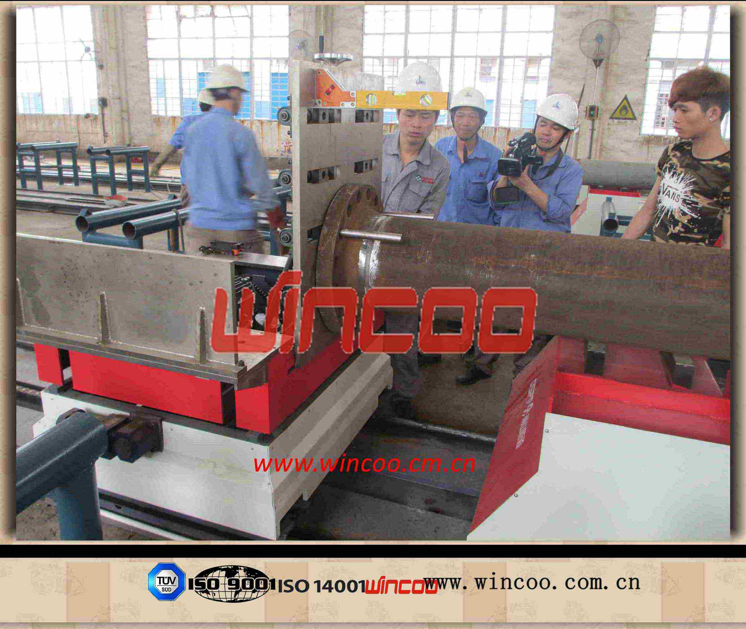 Automatic Pipe /Fittings Fitting up Machine