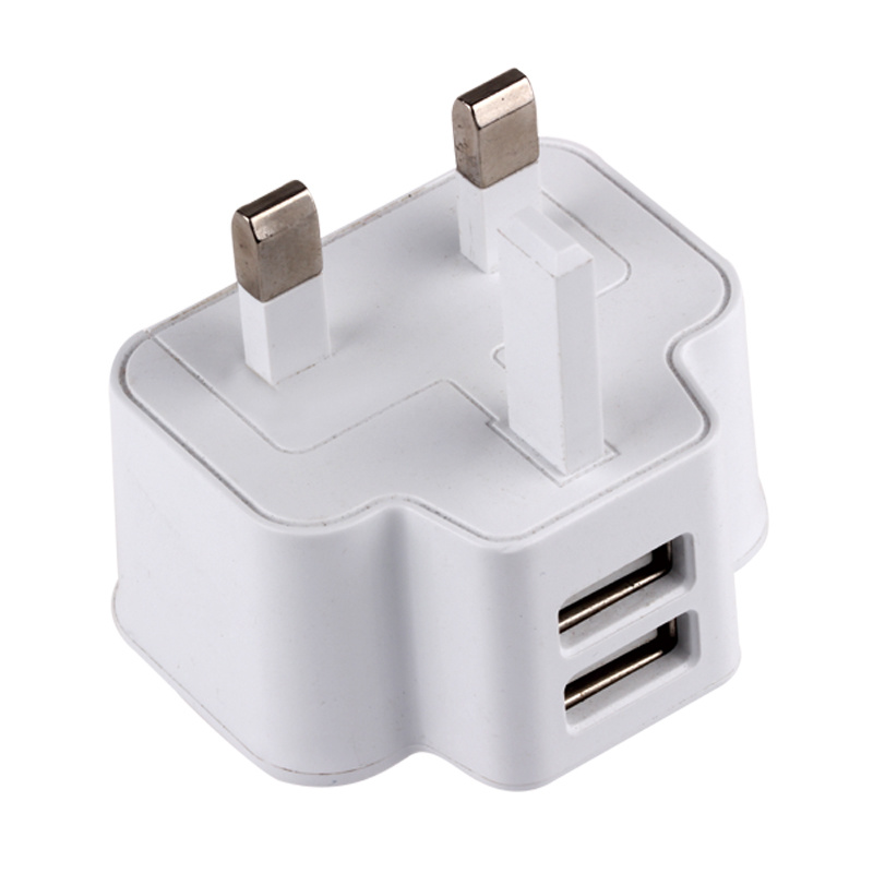 British Standard 2USB 2A Mobile Phone Charger