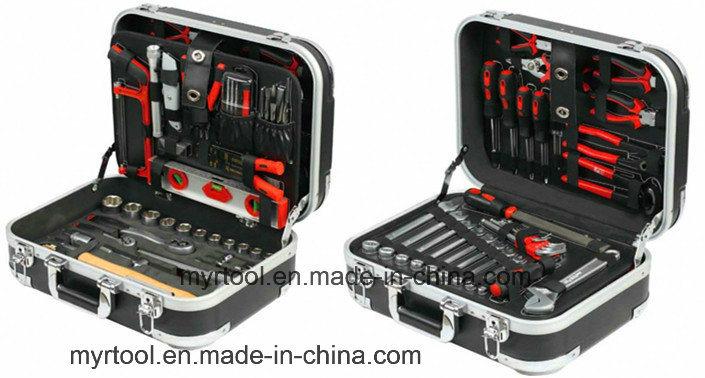 120PCS Professional Hand Tool in ABS Aluminium Case (FY120A)