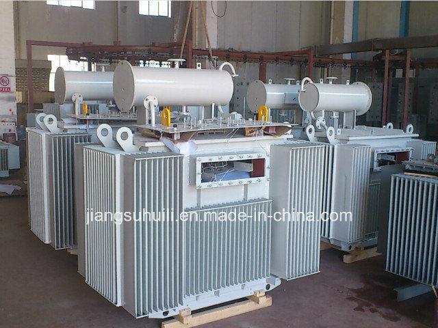 1000 kVA Painting Corrugated Transformer Tanks