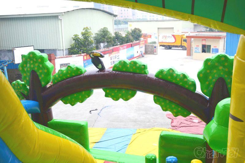 Giant Inflatable Dinosaur Slide for Adults Chsl642