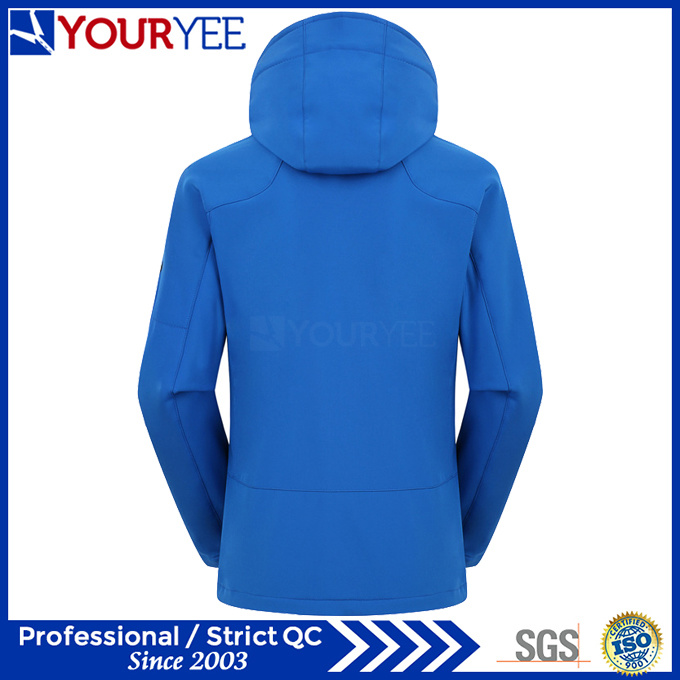 Affordable High Quality Hooded Softshell Jacket Outdoor Waterproof Jackets (YRK111)