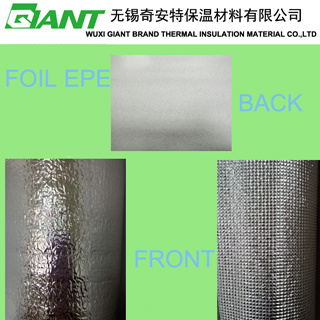 Aluminum Foil Laminated with EPE Foam Insulation