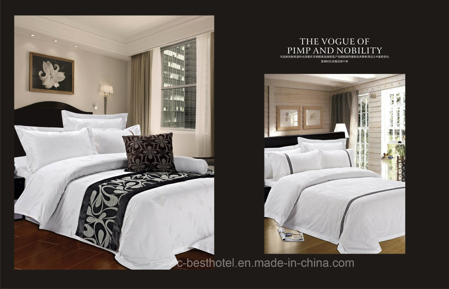Hotel Bedding King Bedding Set Cotton Bedding