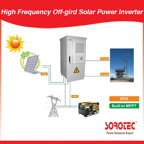 Outdoor Solar Power System 1000-10000W off-Gird 3000W Pure Sine Wave Inverter