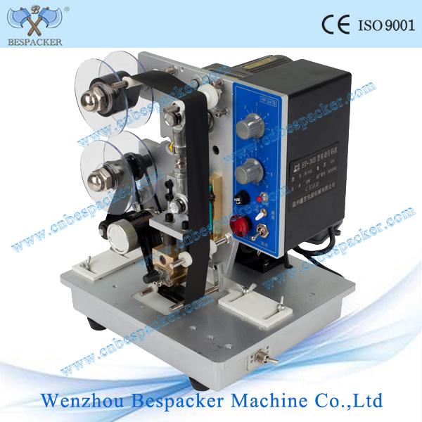 Hot Stamping Foil Machine Ticket Date Coding Machine