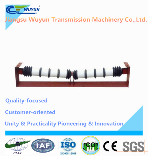 V Shaped Comb Roller, Steel Idler System for Belt Conveyor Roller