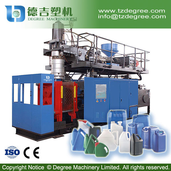 30liter HDPE Plastic Jerry Can Extrusion Blow Molding Machine Price