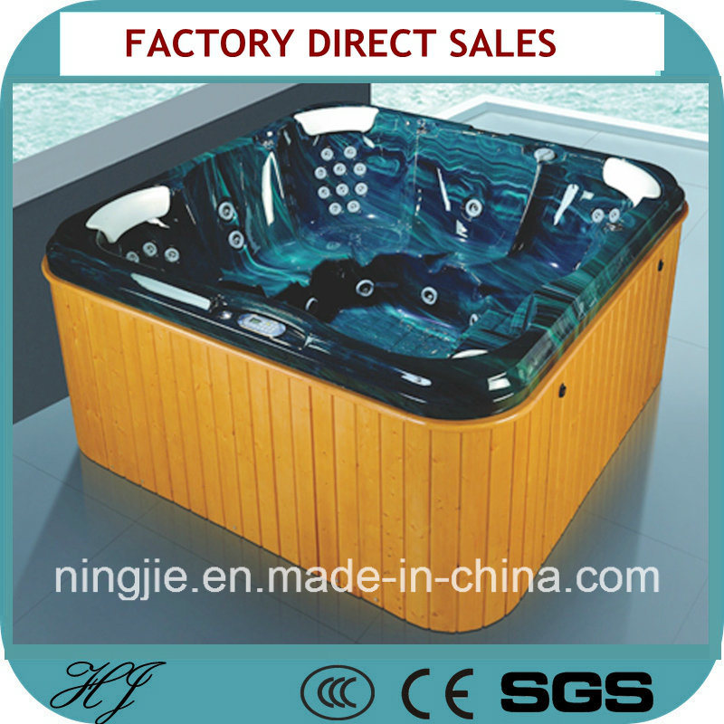 Outdoor SPA Massage Hot Tub for Six Person (711A)