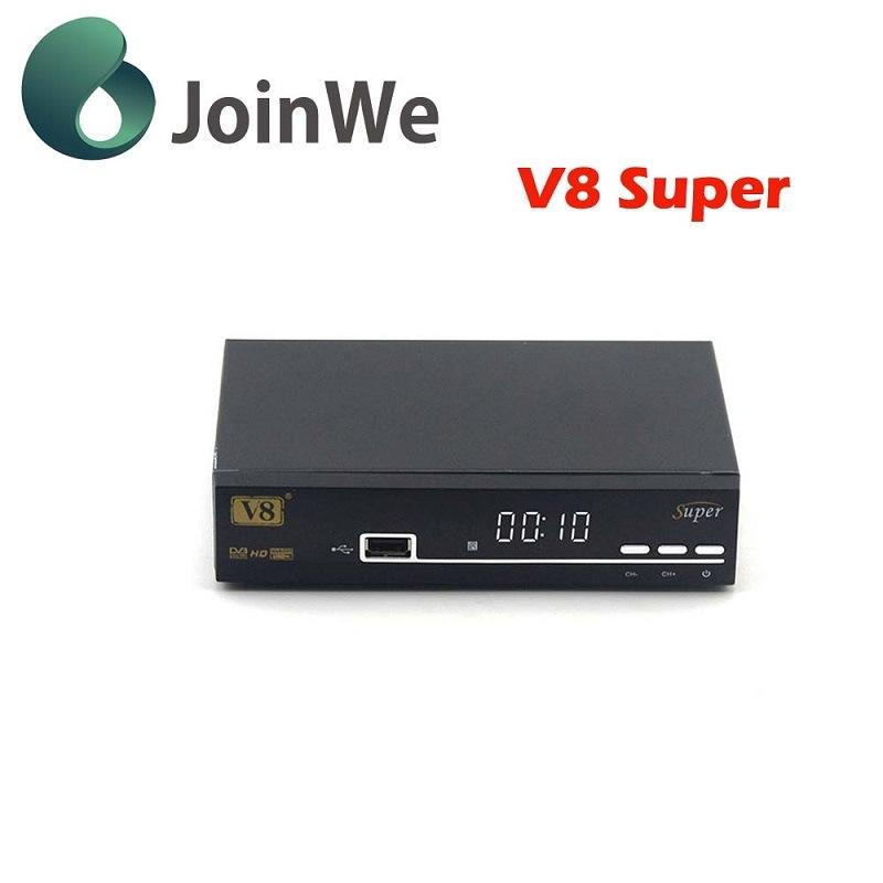 V8 Super Support Full Powervu, Dre &Biss Key DVB-S2 Satellite Receiver