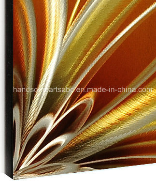 European Abstract 3D Metal Wall Painting for Decor (CHB80802)