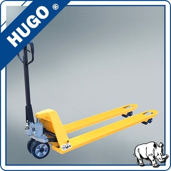 Low Profile 2ton Hydraulic Forklift Manual Hand Pallet Truck