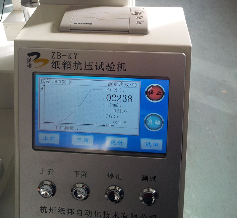 Carton Compression Tester