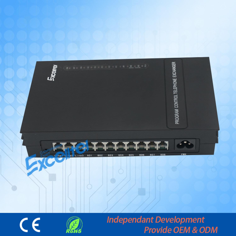 Central Exchange Mini Group Telephone PBX Mk208