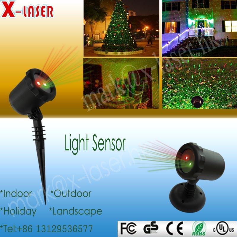 2016 New Blisslight Garden Laser Christmas Light for Tree House