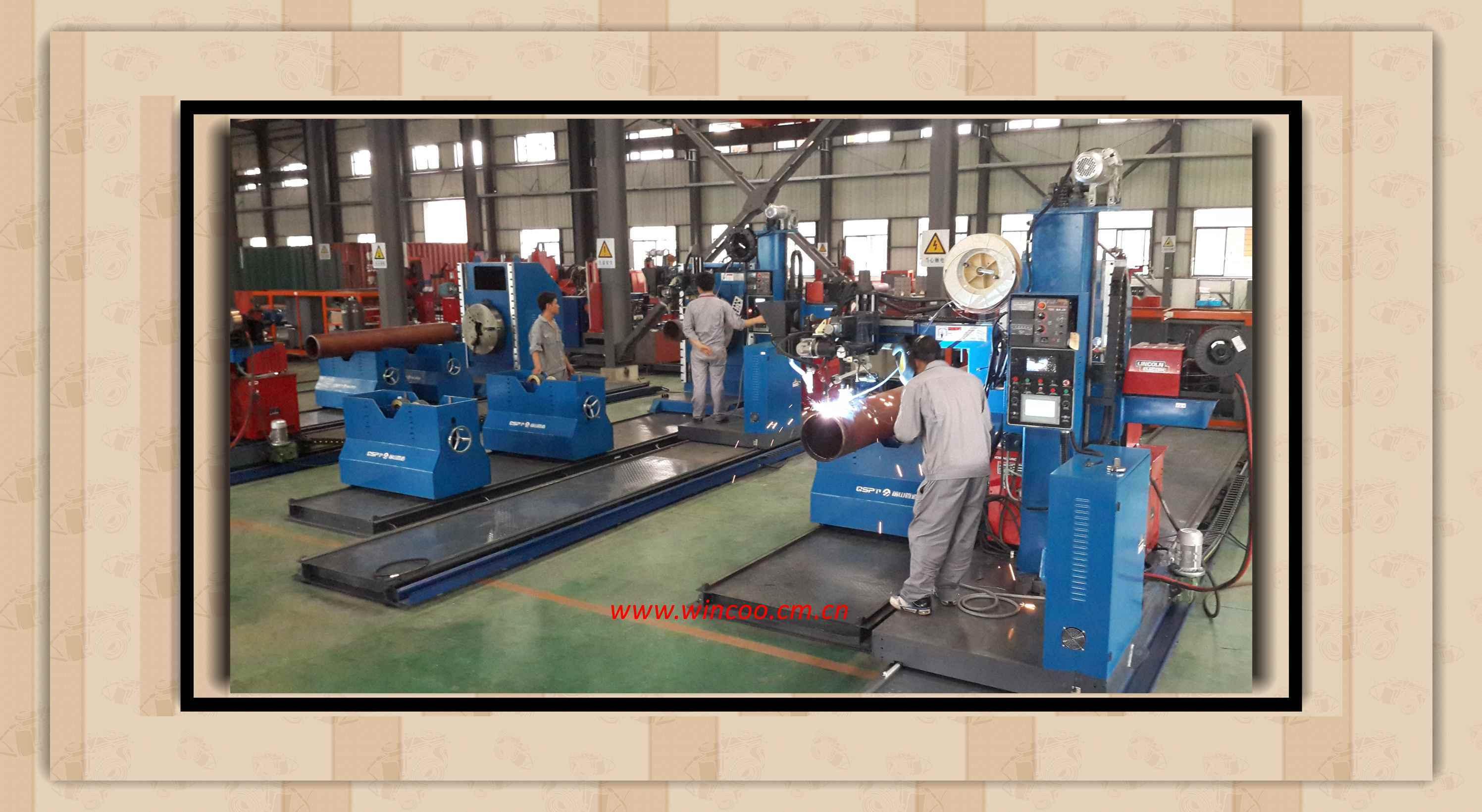 Pipe Spool Pipeline Fabrication Machines