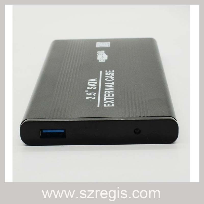 Aluminum USB3.0 IDE Interface HDD Enclosure Maximum Support 750g