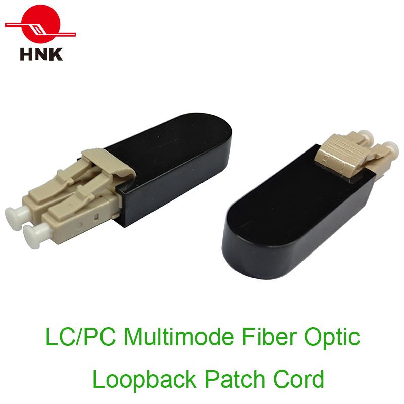 LC PC/APC Fiber Optic Loopback Patch Cord
