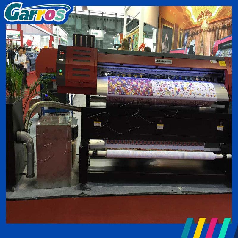 Garros Tx180d Digital Direct to Fabric Textile Flatbed Printer