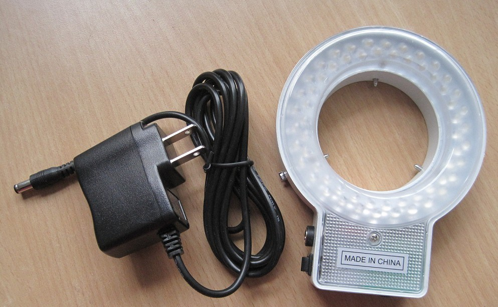 LED-60t 60PCS Microscope LED Ring Light with Four Zone Control