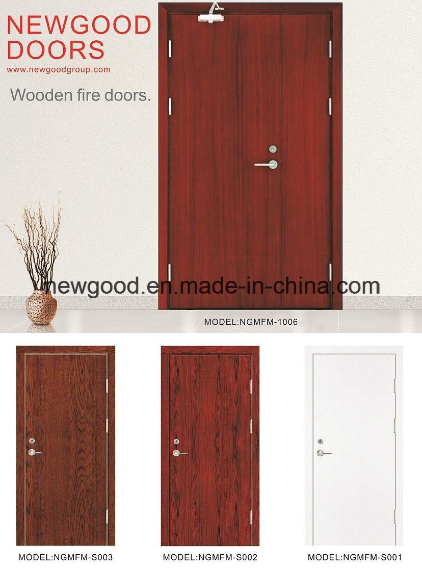 China Fire Rated Wood Door, Fire Rated Wooden Door, Sold Wood Door ...