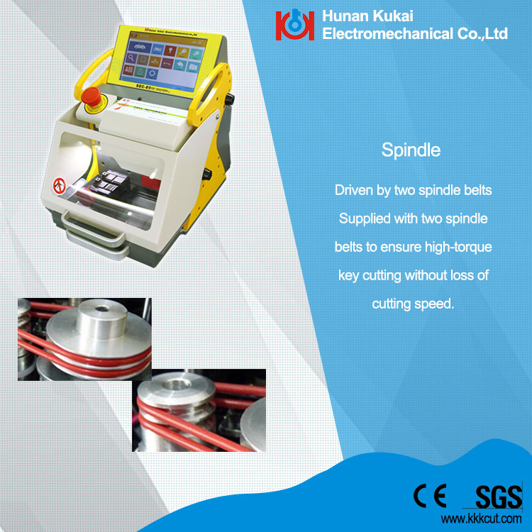 China Cheapest Key Cutting Machine Multiple Languages OEM and ODM (SEC-E9)