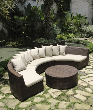 2016 Hot Outdoor Wicker Sofa