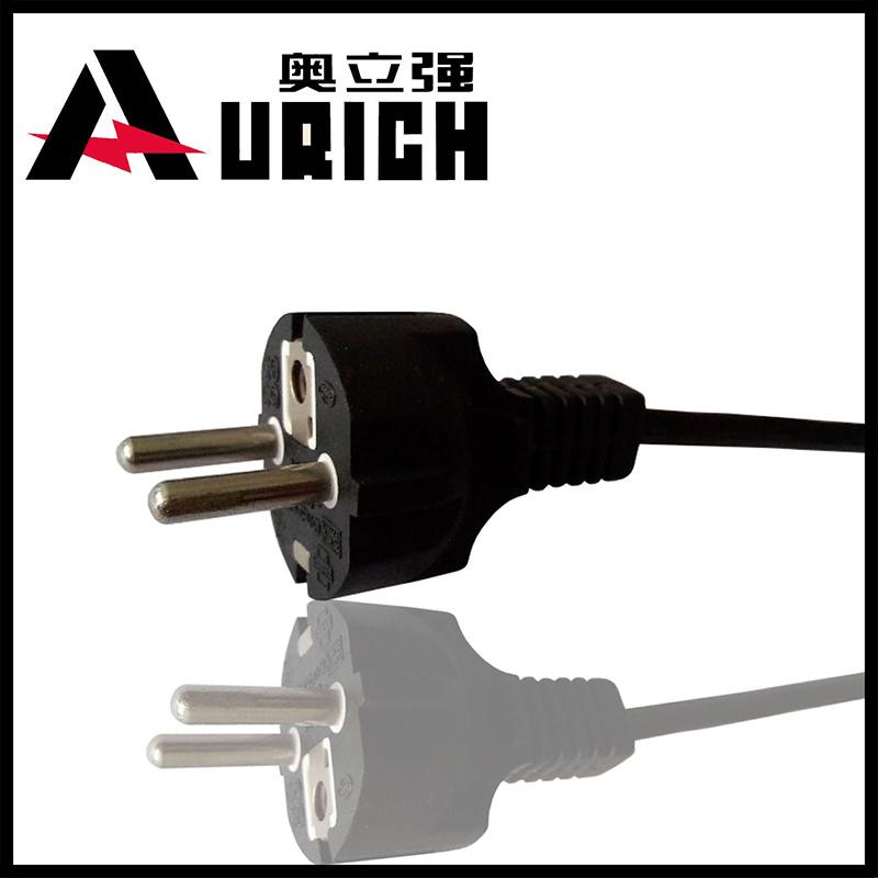 European Type Straight VDE German Power Plug