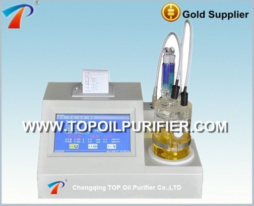 Intelligent Karl Fischer Petroleum Products Oil Moisture Analyzer Series Tp-2100