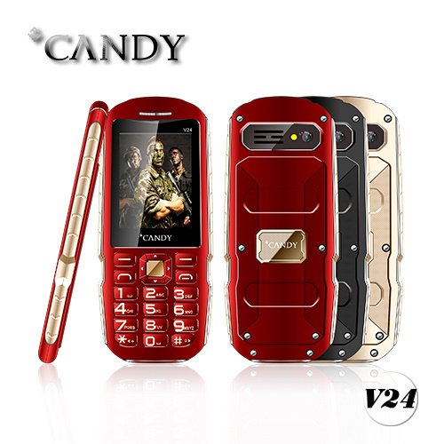 Good Quality Mobile Phone 2.4 Metal Design