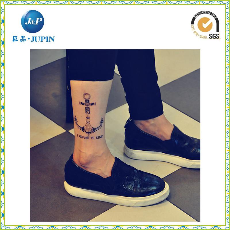 2016 Hot Sale Fashion Custom Metallic Tattoo Sticker (JP-TS067)