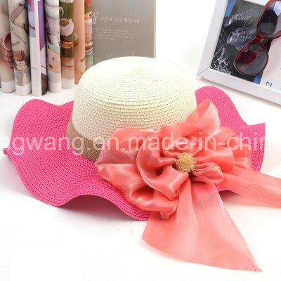 Wholesale Beautiful Lady Straw Hat, Summer Sports Baseball Cap