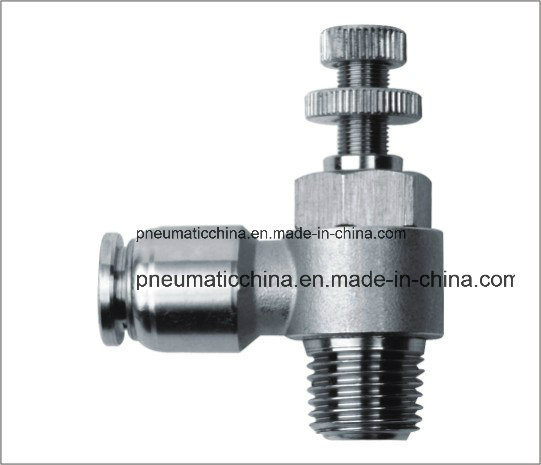 Stainless Steel Push in Fitting From China Pneumission
