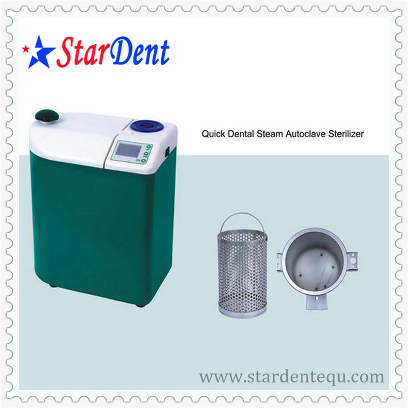 LCD Display 3L Vacuum Steam Dental Autoclave Sterilizer