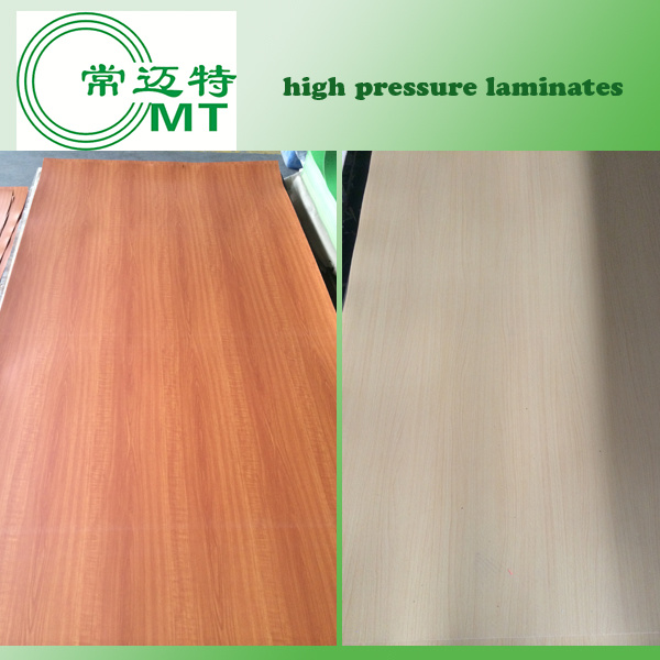 Formica Sheets/Wood Grain Laminate Kitchen Cabinets/Sunmica Laminates