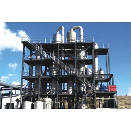 Multi Effect Falling Film Vacuum Evaporator for Effluent Evaporation System