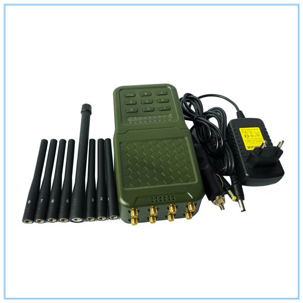 China 8 Antennas Portable GPS WiFi 3G 4G Mobile Phone Signal Jammer Blocker Lojack GSM Jammer - China Portable Eight Antenna for All Cellular GPS Loj, Lojack/WiFi/4G/GPS/VHF/UHF Jammer