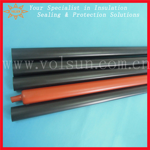 High Heat Resistant Semi Rigid Heat Shrink Tube UL Approved