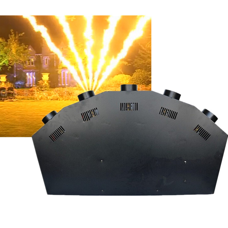 5 Heads LPG Fire Machine Fire Machine Indoor Flame Projector Stage Effect